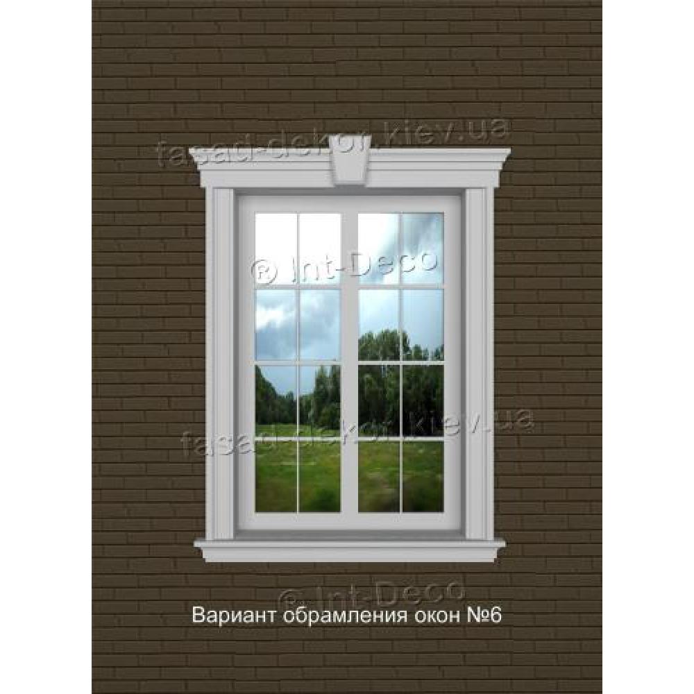 Фасад дома варианты отделки окон на фасаде № 6